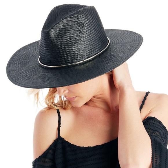 Sole Society Wide Brim Straw Hat With Metal Band. M 5ad681f6caab446bae402471 911abe31543